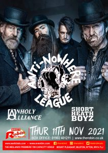 Anti Nowhere League & Support
