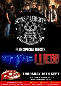 Sons of Liberty & Special Guests